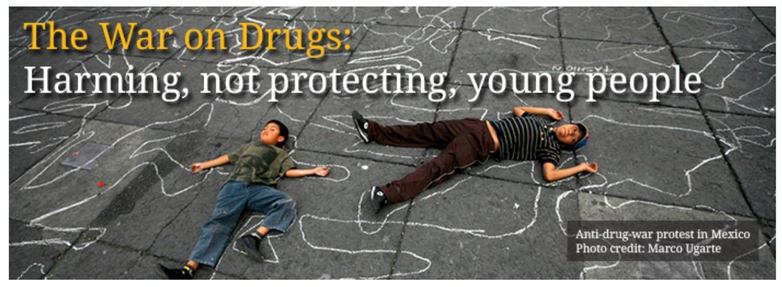 The war on drugs: harming not protecting young people