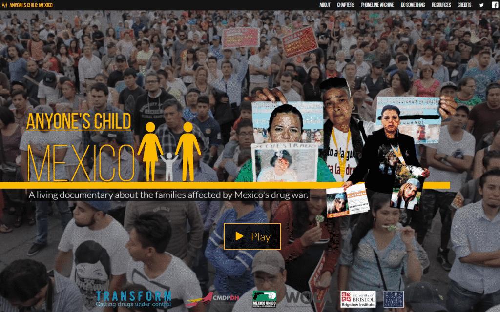 Anyone's Child Mexico interactive documentary