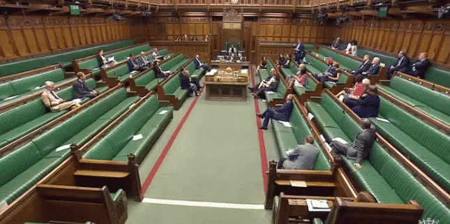 Poorly attended parliamentary drug debate July 2017