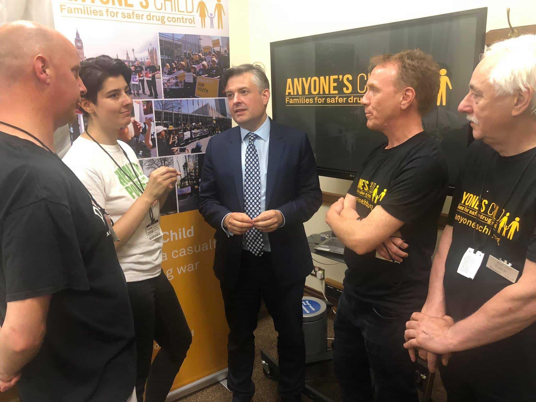 Jon Ashworth MP Anyone's Child lobby